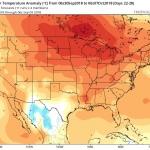 Obr.3: Týden 4 - meteorologický model (30.9.-6.10.)